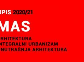 УПИС у прву годину Мастер академских студија 2020/21