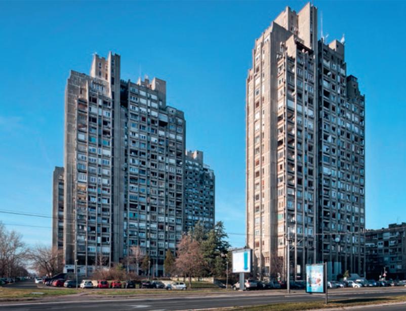 stjepanovic - stambeni blokovi 22 i 23 novi beograd
