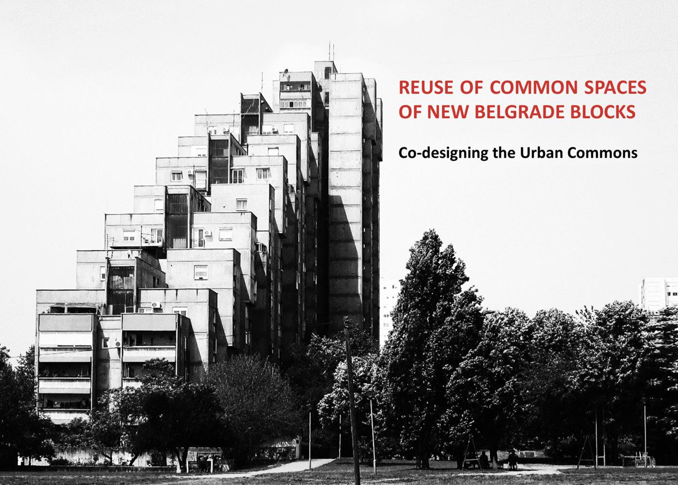 Одржана радионица   Reuse of Common Spaces of New Belgrade Blocks: Co-designing the Urban Commons