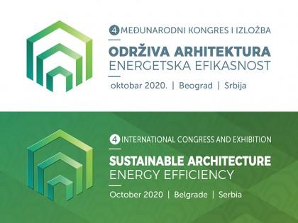 OTKAZAN 4. međunarodni kongres ODRŽIVA ARHITEKTURA – ENERGETSKA EFIKASNOST