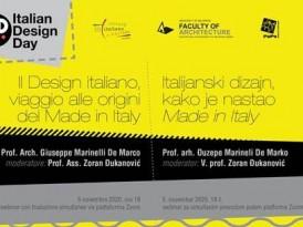 Дан италијанског дизајна у свету – Italian Design Day 2020