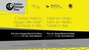 Dan italijanskog dizajna u svetu – Italian Design Day 2020