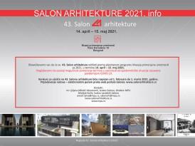 43. Салон архитектуре – најава