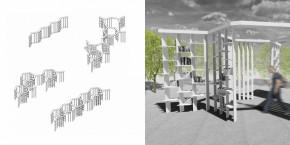 REZULTATI Javnog, anketnog studentskog konkursa za idejno rešenje mobilnog paviljona / prostorne instalacije