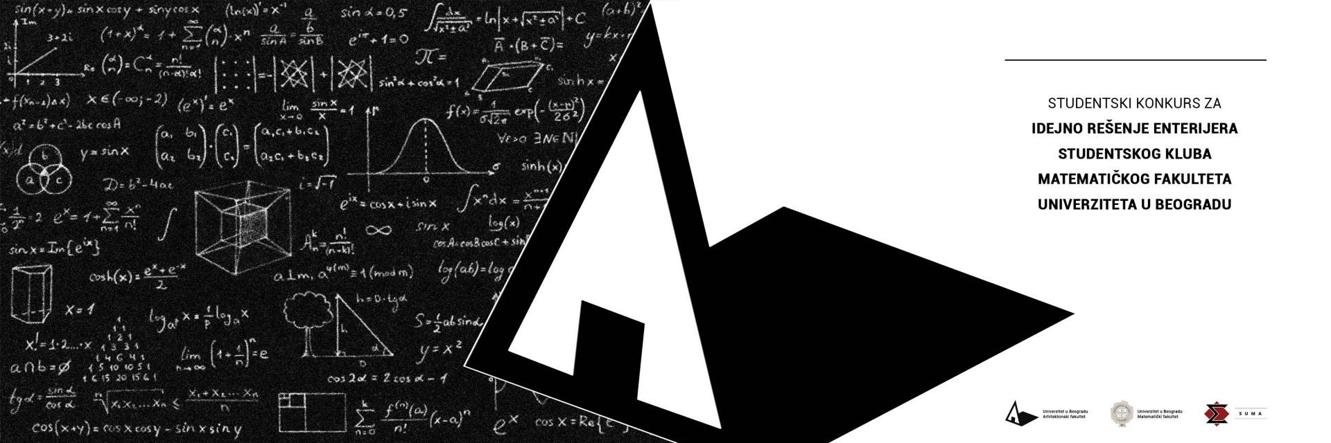 STUDENTSKI KONKURS ZA IDEJNO REŠENJE ENTERIJERA STUDENTSKOG KLUBA MATEMATIČKOG FAKULTETA UNIVERZITETA U BEOGRADU