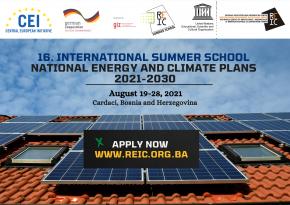 Летња школа – национални енергетски и климатски планови