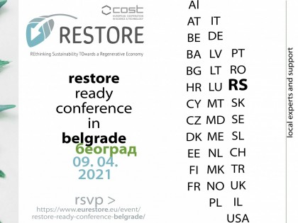 RESTORE READY Conference in Belgrade