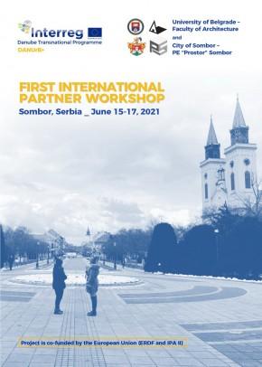 DANUrB+ Project: International workshop in Sombor, Serbia, June 15-17, 2021