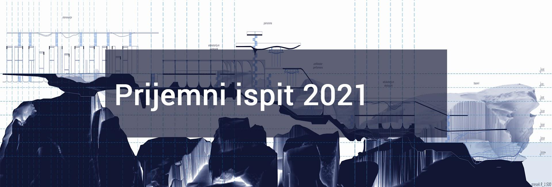 PRIJEMNI ISPIT 2021 – treći upisni rok