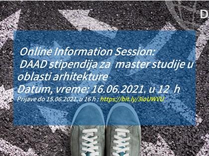 Онлајн презентација – ДААД стипендија за архитекте