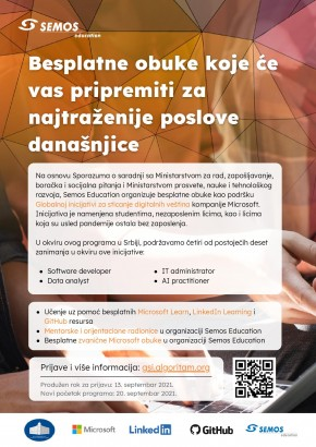 Program besplatne obuke- SEMOS EDUCATION